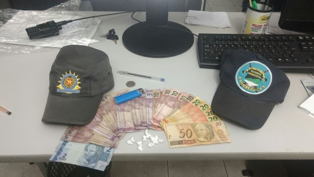 PM e Guarda Municipal realiza apreensão de drogas em São Miguel