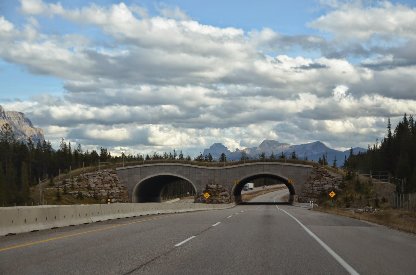 Rodovia de Banff, Canadá