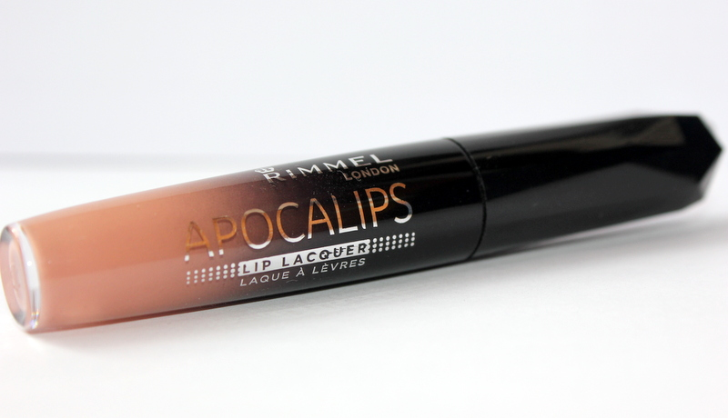 Rimmel Apocalips lip lacquer #600 nude eclipse