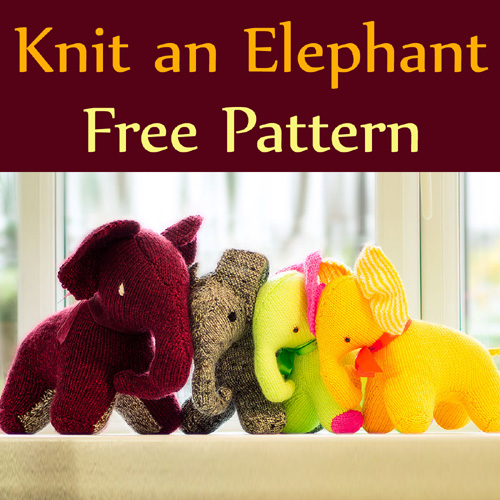 Knit an Elephant - Free Pattern