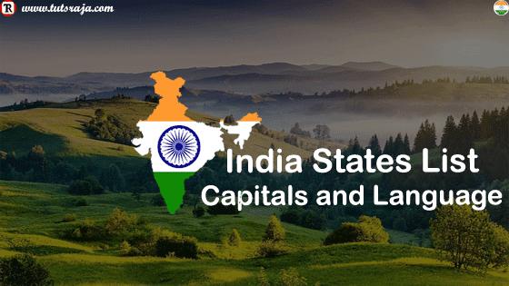 India States List