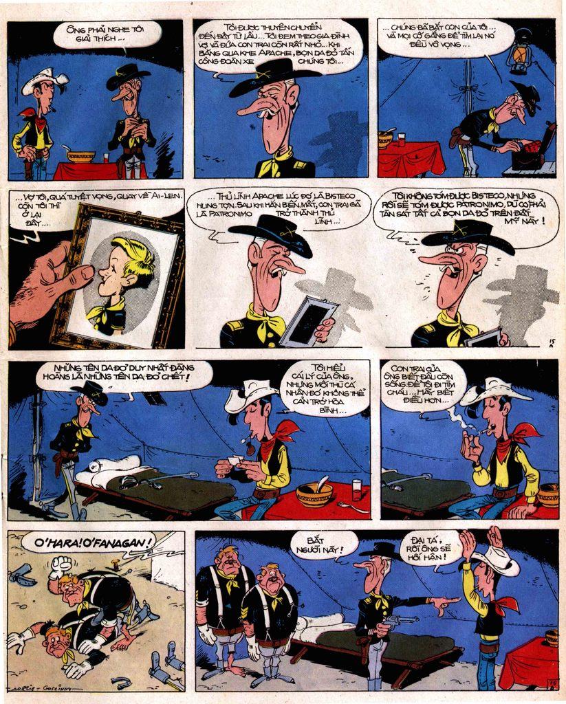 Lucky Luke tap 12 - khe vuc apache trang 15