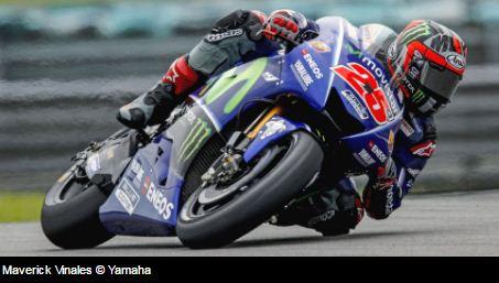 Hasil FP1 MotoGP Inggris 2017: Vinales Tercepat, Rossi Kelima
