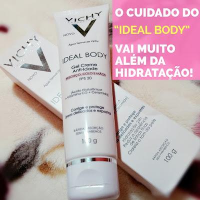 Vichy Ideal Body Gel Creme Antiidade