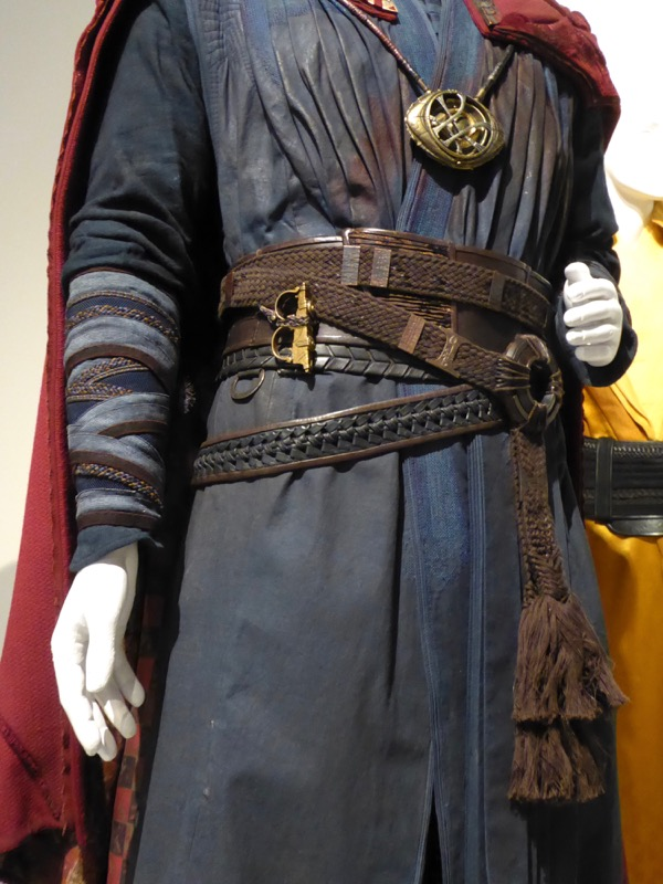 Doctor Strange movie costume detail
