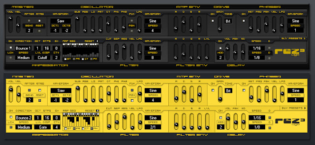 Rez - Free Virtual Analogic Synthesizer Plug-in