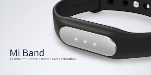 Xiaomi Mi Band 1S Heart Rate Wristband with White LED