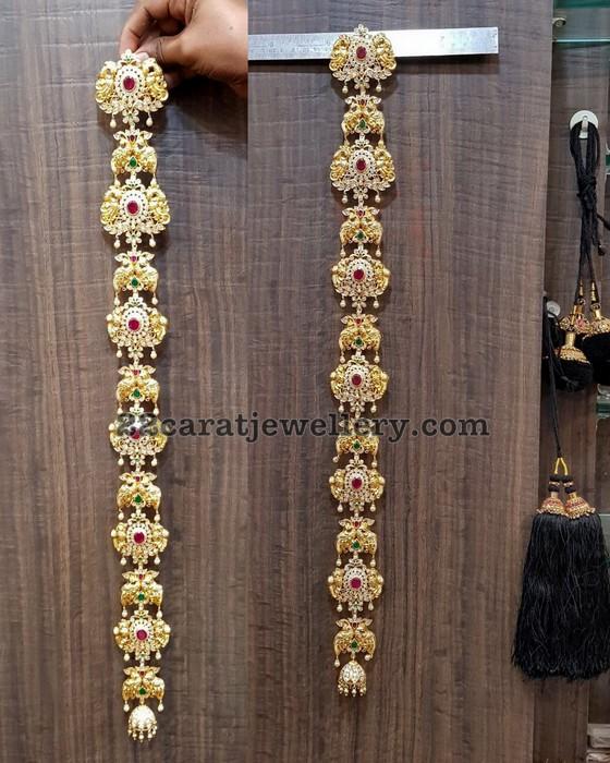 Silver Jada or Choti Designs