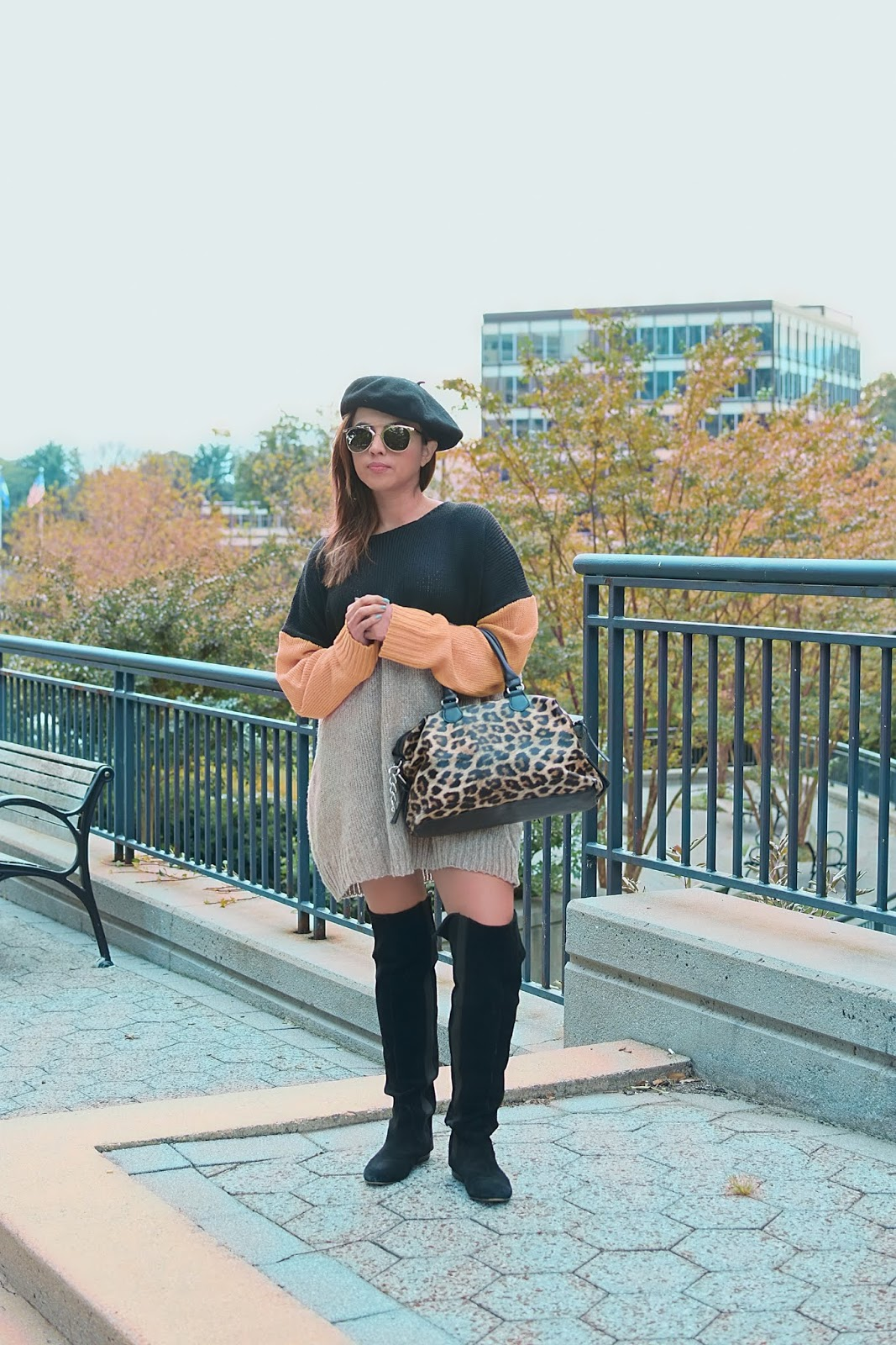 Oversize Sweater Outfit by Mari Estilo