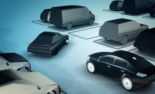 The automaker Volvo will soon unveil a concept car equipped with a self-parking. It is able to find a parking place and park there all alone with no one at the wheel. The car also interacts with other vehicles and pedestrians present in the parking area
