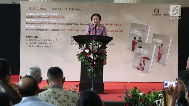 Kata PDIP soal Megawati Hadir di Peluncuran Buku 'Bung Besar' yang Disita TNI