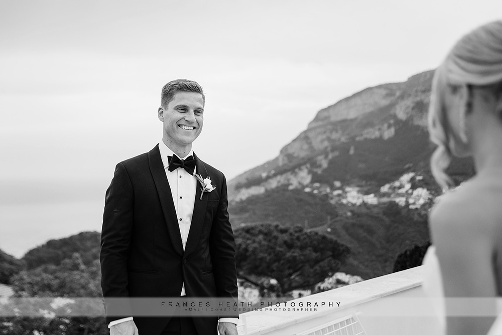 Groom at Villa Eva