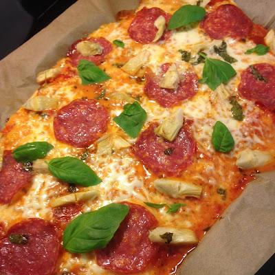 Kotitekoinen Pizza Täytteet