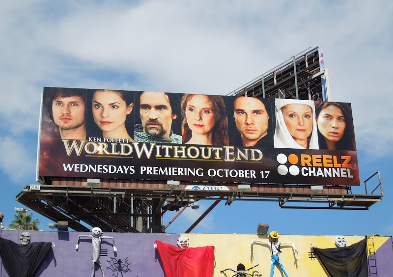World Without End TV mini series billboard
