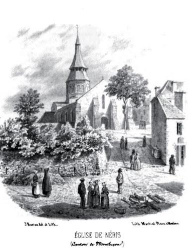Patrimoine de l'Allier: église de Néris