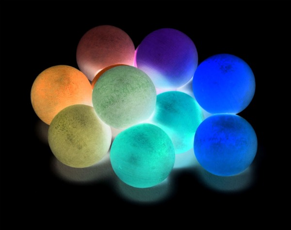 AWESOME KID PROJECT:  Make your own bouncy balls that glow-in-the-dark!!  (Super kid fun!)