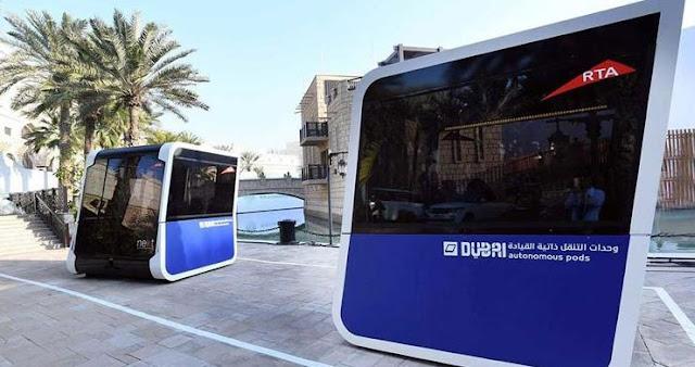 Αυτόνομα μικρά λεωφορεία χωρίς οδηγό δοκιμάζονται στο Ντουμπάι
