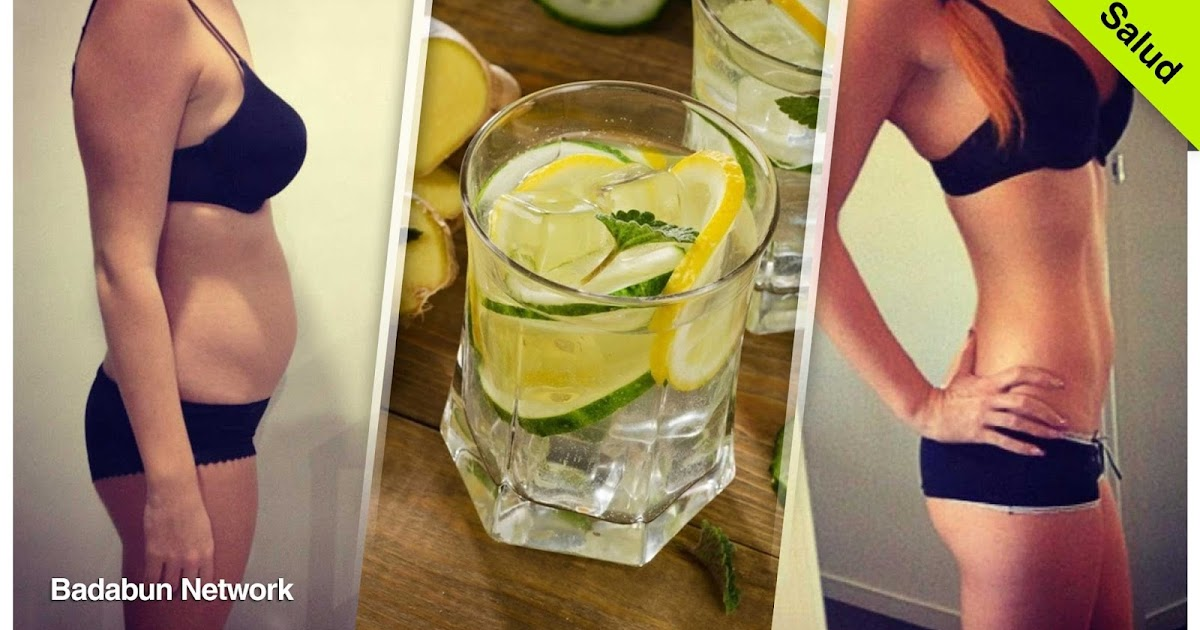 consejo receta bebida adelgazar perder peso dias pronto natural