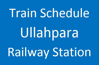 Ullahpara station train schedule