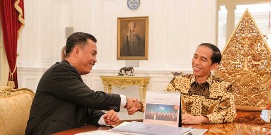 Jokowi 'Ancam' Prasetio Edi Jika Kalah di Jakarta