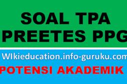 Referensi Soal Tes Potensi Akademik (TPA) Pretest PPG