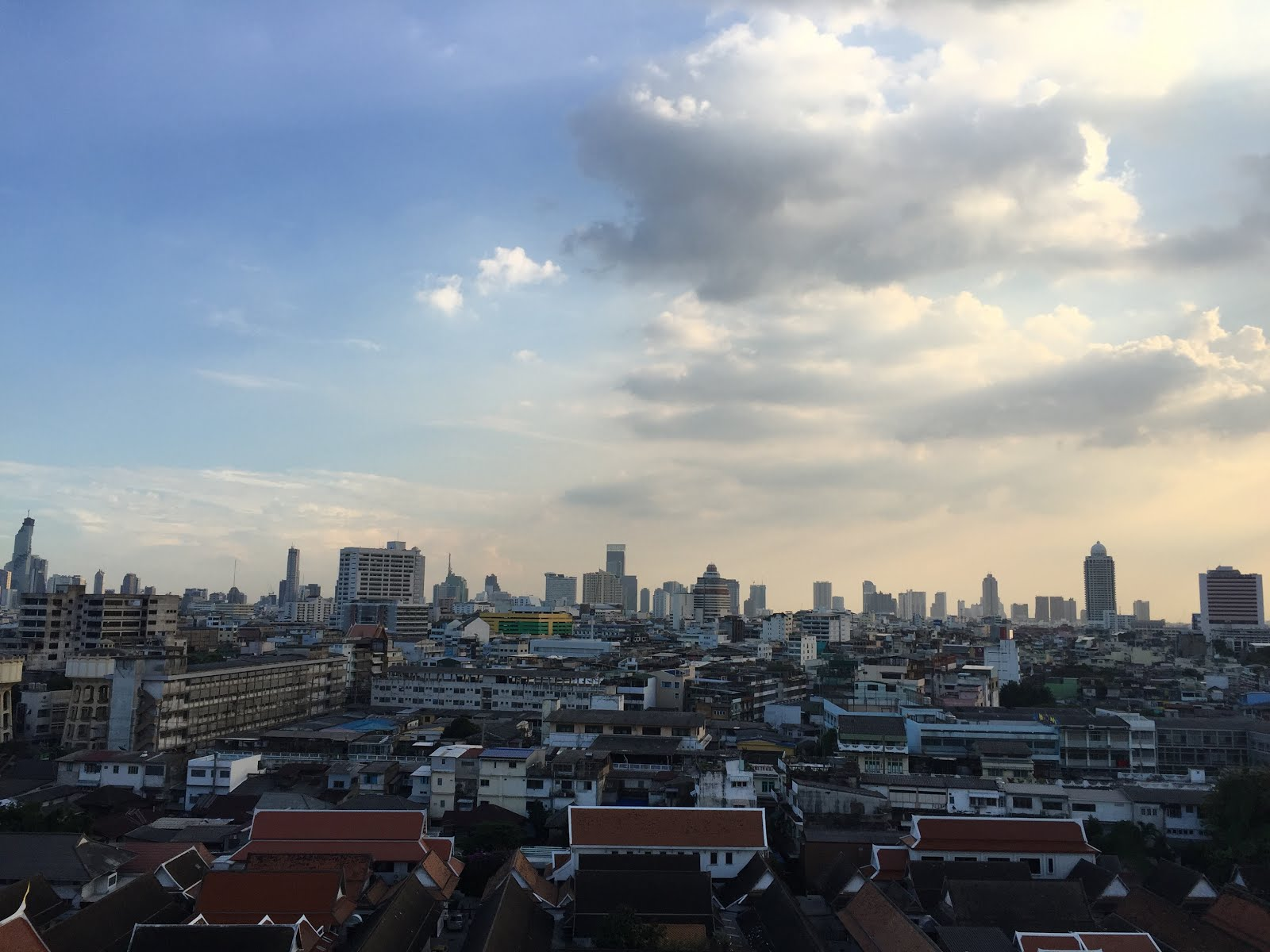 Downtown View of Bangkok, Thailand