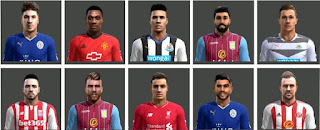 EPL FacePack 2016 Pes 2013 By Ben Ameur