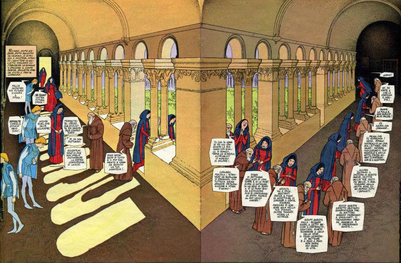 Novela gráfica de Gianni Di Luca con un innovador lenguaje gráfico