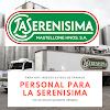 Se busca empleado para empresa La SERENISIMA - Sueldos desde $48.000