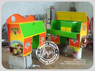 produksi gerobak motor kari ayam