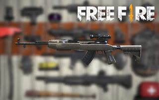 senjata terbaik free fire sks