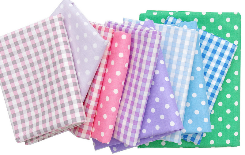 Yuwa fabric stash basics - Gingham & Dots | © Red Pepper Quilts 2017