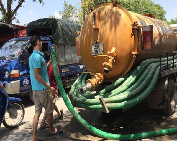 Quy trình hút bể phốt Thanh Hóa tại Duy Sơn