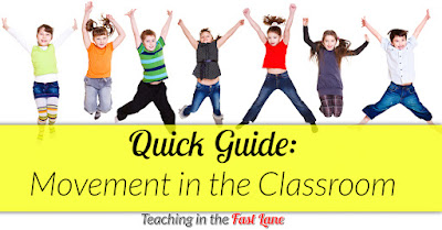 Are you looking for ways to include more movement in your classroom? Try these easy to manage, but totally worth it tips!