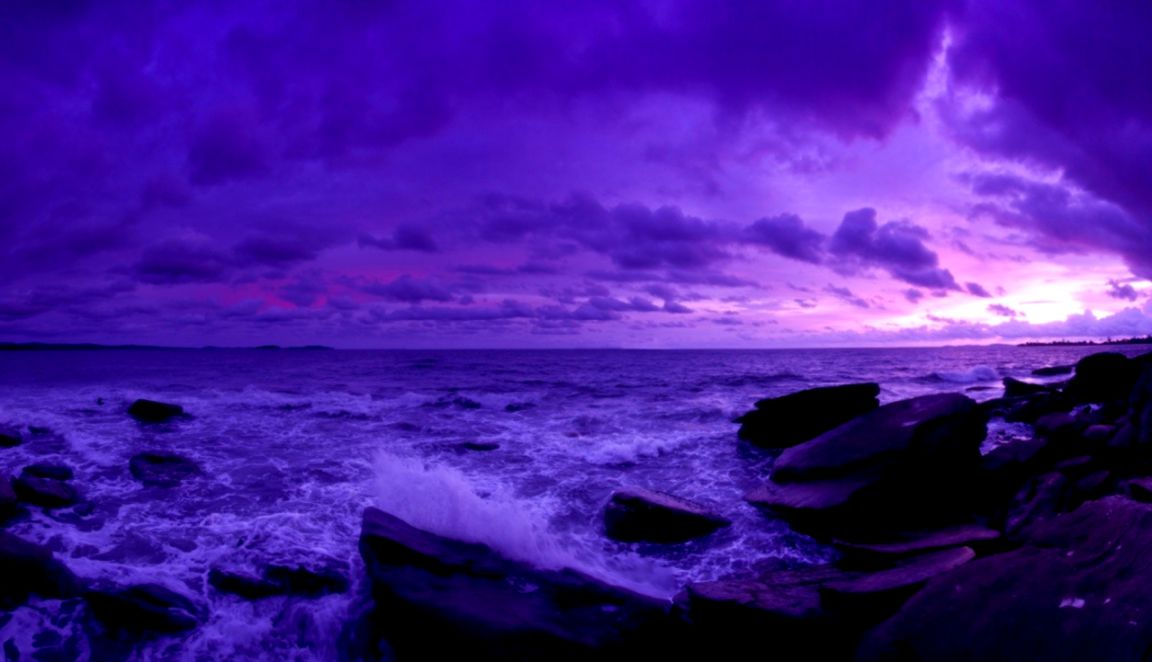 Super Purple Ocean Beach Sunset Hd Wallpaper Cute Wallpapers Download Free Architecture Designs Scobabritishbridgeorg