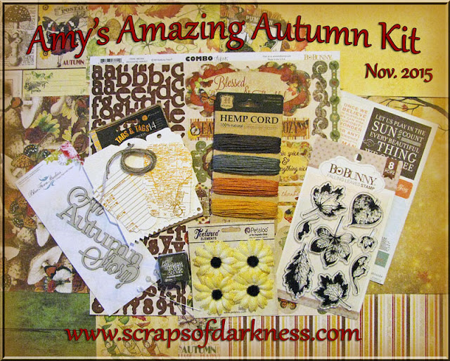 Scraps of Darkness November Amy's Amazing Autumn Kit