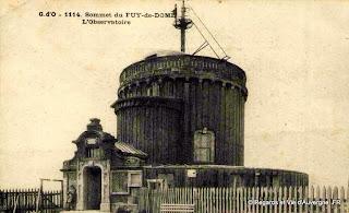 Puy de Dôme, l'observatoire