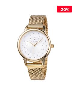 Ceas elegant auriu Daniel Klein Premium DK11802-5