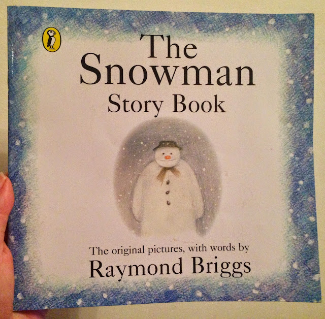 Our Christmas Book Advent tree   Ideas for the Best Children's Books to Buy this Christmas - The Snowman