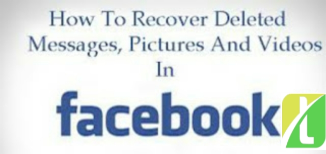 Recover Deleted Facebook Messages,Photos and Videos back