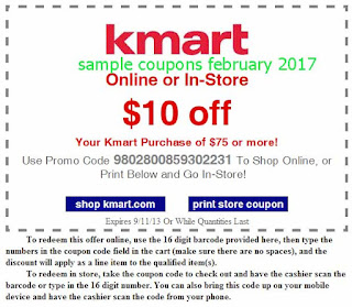 Kmart coupons february 2017