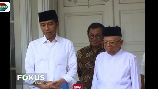 Charta Politika: Ma'ruf Amin Cuma Sumbang 0,2 Persen Suara ke Jokowi