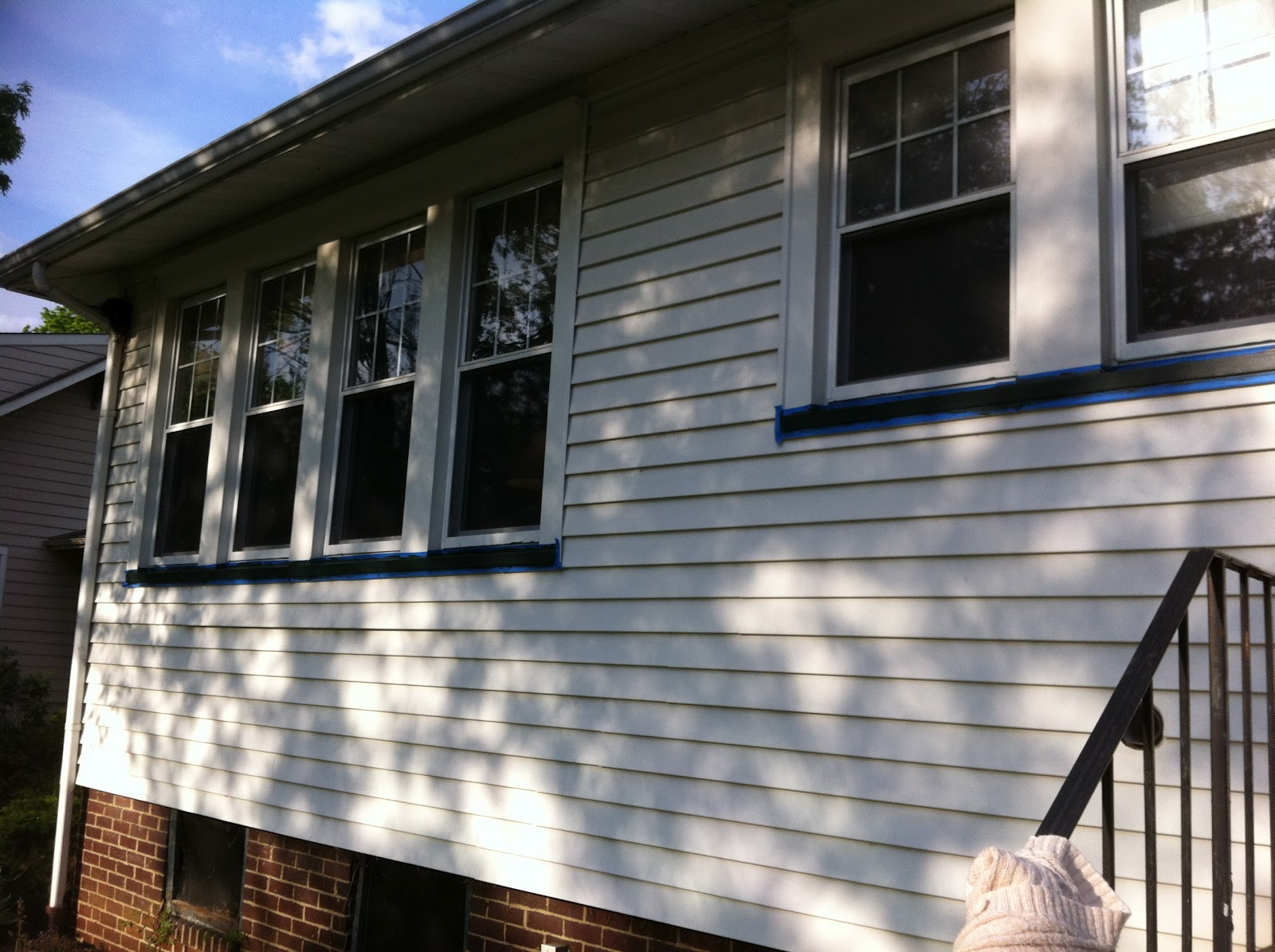 Our New To Us 1910 Foursquare Home Blue Vinyl Siding