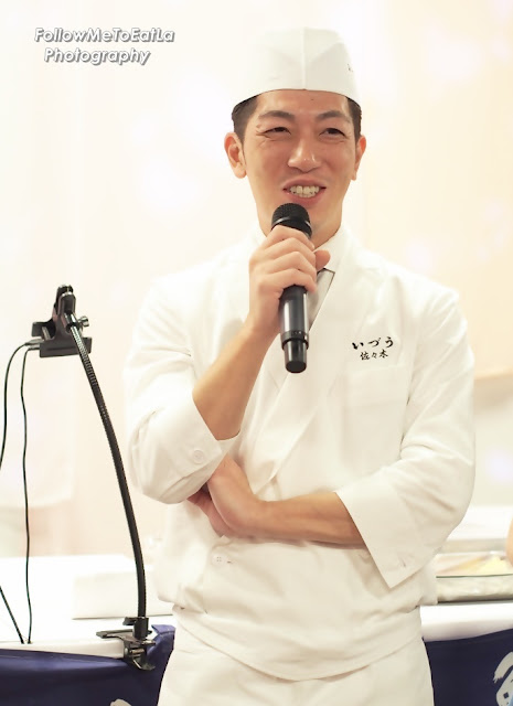 Chef Shogo Sasaki Of Famed IZUU In Kyoto