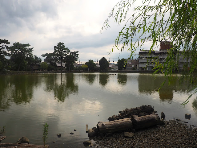 Pond in Naramachi, Nara, Kansai, Japan