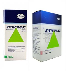 Zitromax, một kháng sinh nhóm Macrolid nên uống khi đói để hấp thu tốt hơn