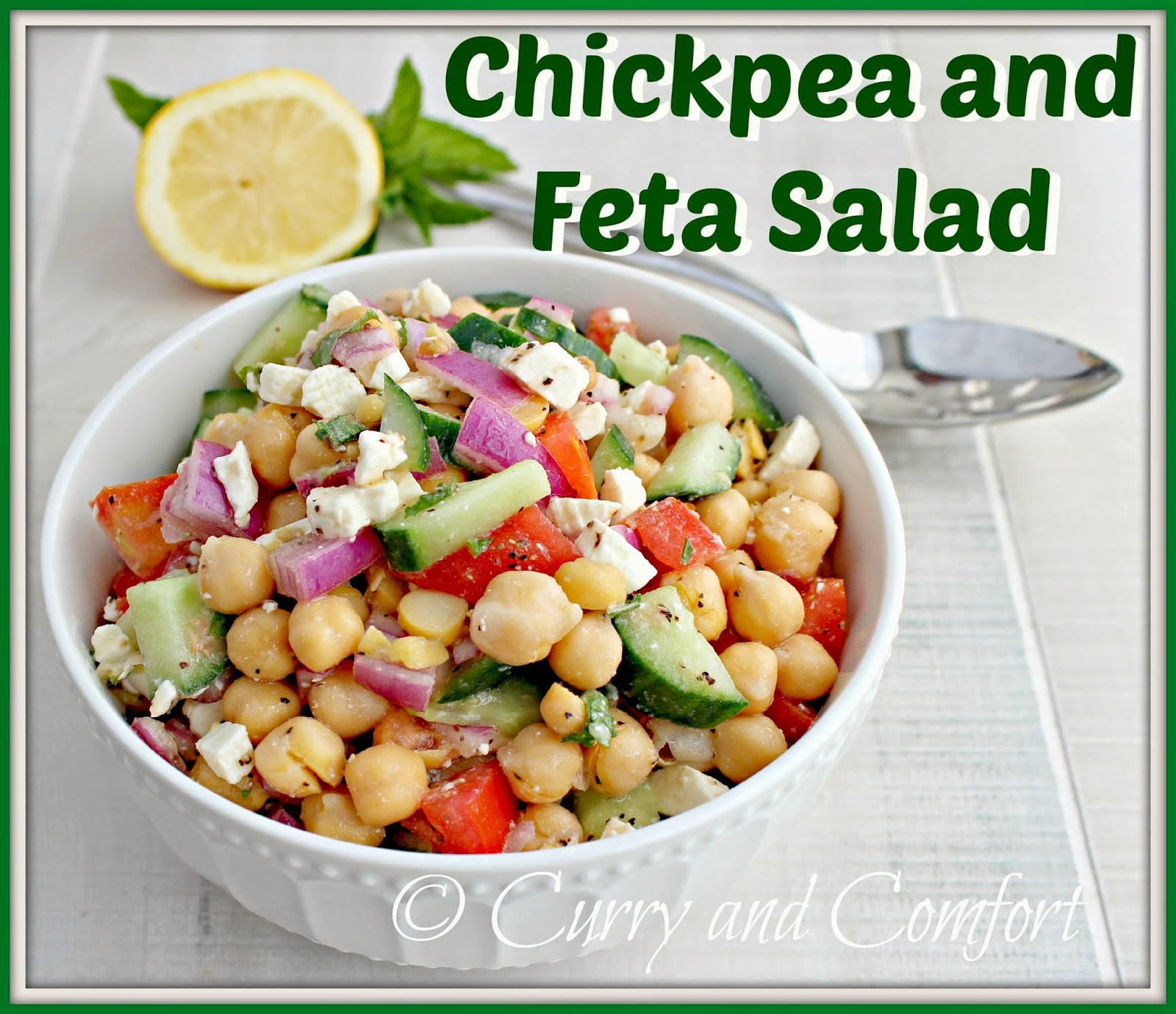 Kitchen Simmer: Chickpea and Feta Salad