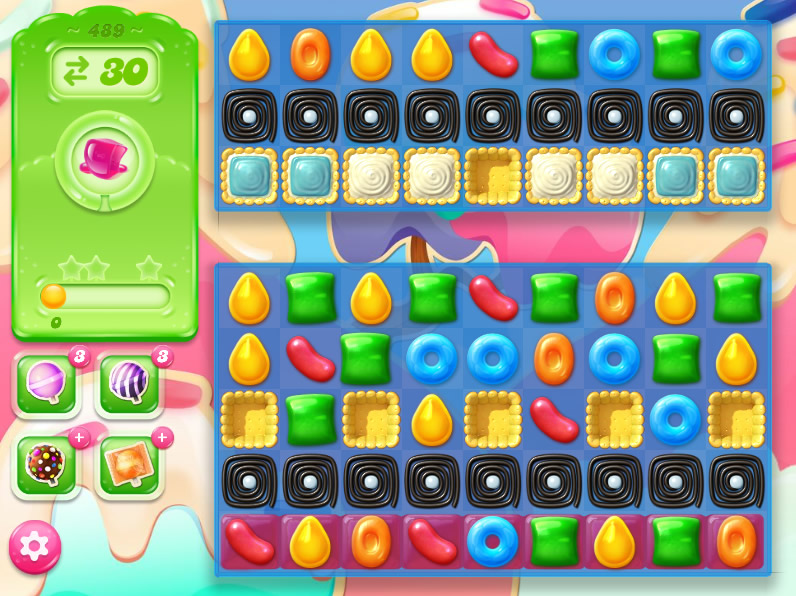 Candy Crush Jelly Saga 489