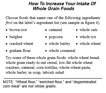 How To Increase Your Intake Of Whole Grain Foods