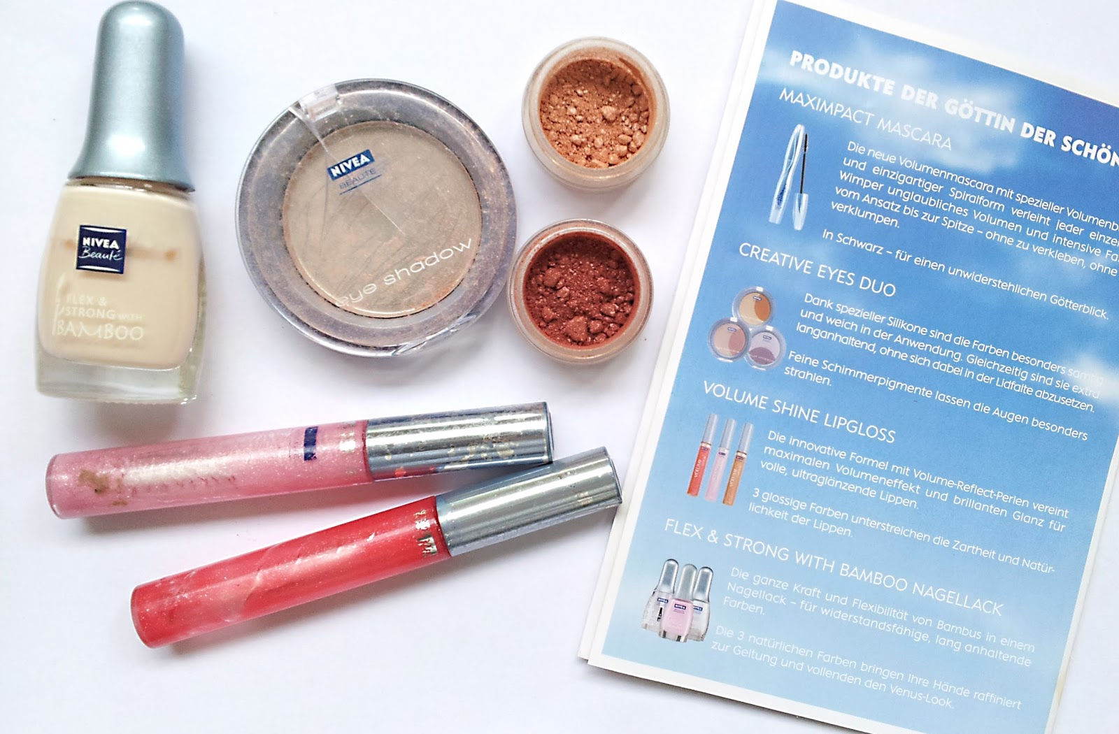 The life in front of my eyes: Flashback: Nivea Beauté Venus-Look